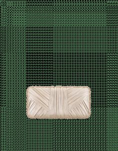 Chanel Gold Pleated Metallic Lambskin Evening in Greece Bag