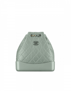 Chanel Green Gabrielle Backpack Bag