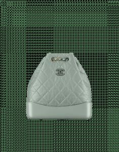 Chanel Green Gabrielle Backpack Bag