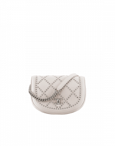 Chanel Ivory Coco Eyelets Small Flap Bag