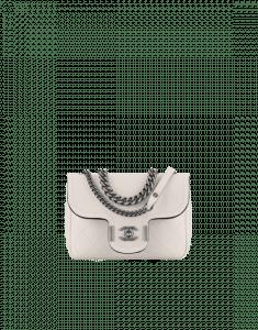 Chanel White Archi Chic Flap Bag