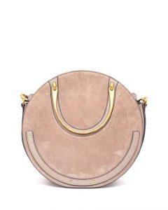 Chloe Beige Medium Pixie Bag