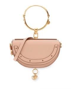 Chloe Beige Nile Small Bracelet Minaudiere Bag