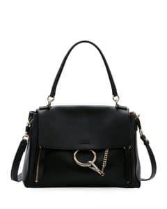Chloe Black Faye Medium Day Bag