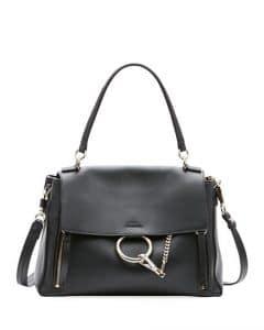 Chloe Black Faye Small Day Bag