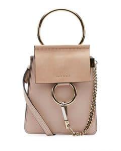 Chloe Light Pink Faye Small Bracelet Bag