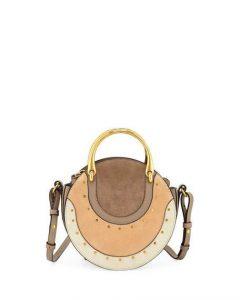 Chloe Multicolor Colorblock Small Pixie Bag
