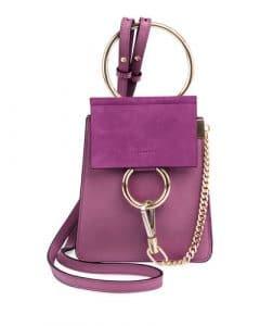 Chloe Plum Faye Small Bracelet Bag