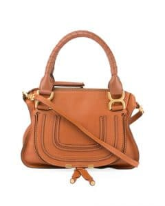 Chloe Tan Small Marcie Bag