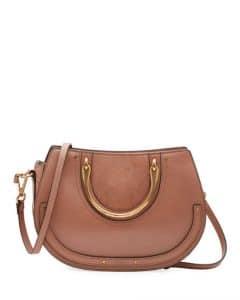 Chloe Taupe Medium Pixie Tote Bag