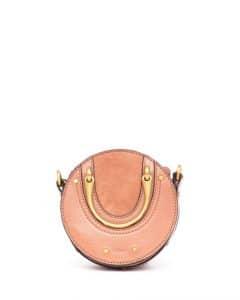 Chloe Taupe Mini Pixie Bag