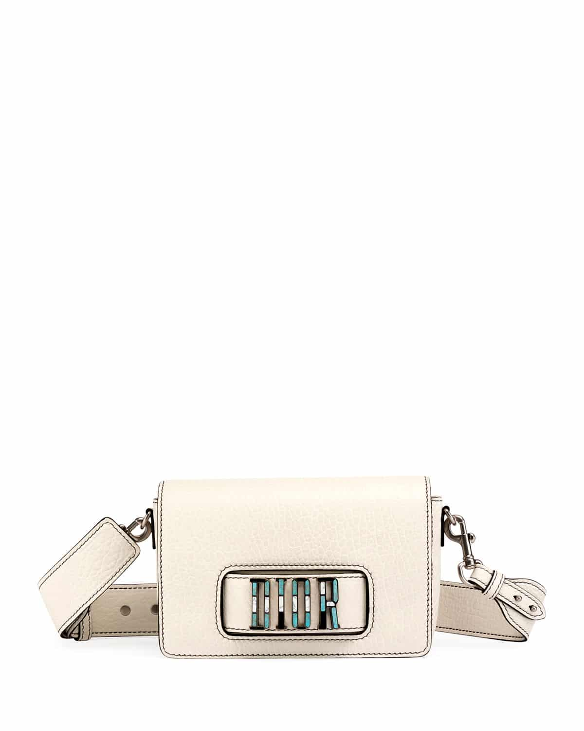 d35654ce9eaa Dior Off-White Canyon Grained Lambskin Dio(r)evolution Flap Bag
