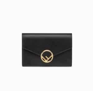 Fendi Black F is Fendi Wallet On Chain Bag