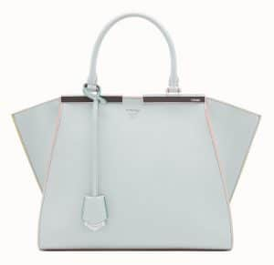 Fendi Gray 3Jours Bag