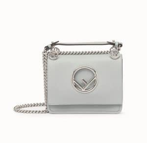 Fendi Gray Kan I F Small Bag