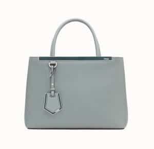 Fendi Green Petite 2Jours Bag