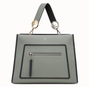 Fendi Green Runaway Bag