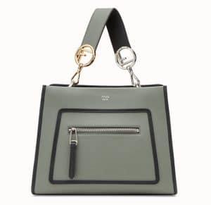 Fendi Green Runaway Small Bag
