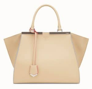 Fendi Light Brown 3Jours Bag