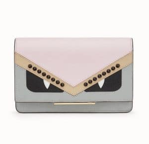Fendi Multicolor Bag Bugs Wallet On Chain Bag