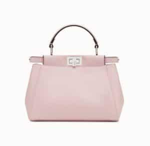 Fendi Pink Peekaboo Mini Bag