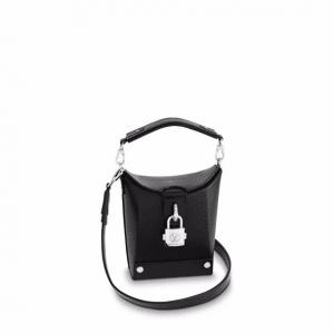Louis Vuitton Black Epi Bento Box Bag
