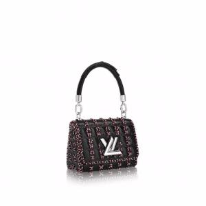 Louis Vuitton Black Epi Samourai Twist PM Bag