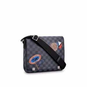 Louis Vuitton Damier Graphite LV League District PM Bag