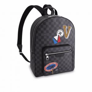 Louis Vuitton Damier Graphite LV League Josh Backpack Bag
