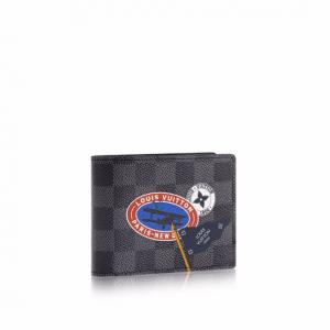Louis Vuitton Damier Graphite LV League Multiple Wallet