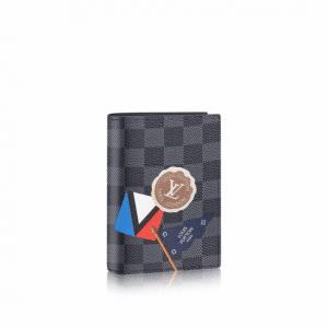 Louis Vuitton Damier Graphite LV League Passport Cover