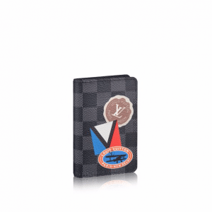 Louis Vuitton Damier Graphite LV League Pocket Organizer