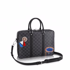 Louis Vuitton Damier Graphite LV League Porte-Documents Voyage PM Bag