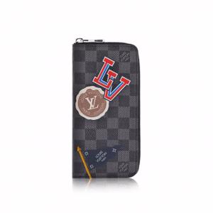 Louis Vuitton Damier Graphite LV League Zippy Wallet Vertical
