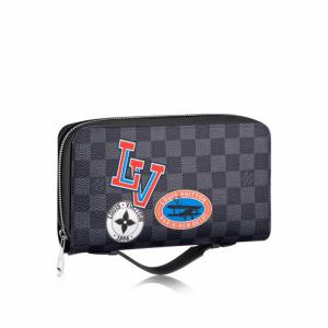 Louis Vuitton Damier Graphite LV League Zippy Wallet XL