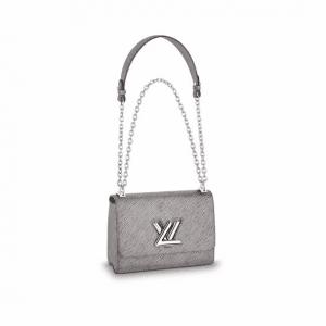 Louis Vuitton Epi Platine Twist MM Bag