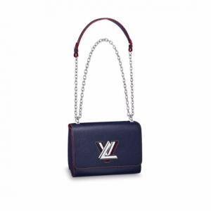 Louis Vuitton Indigo Epi Twist MM Bag
