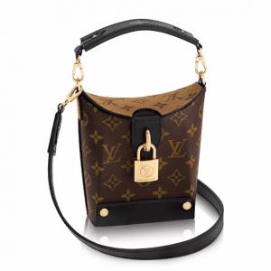 Louis Vuitton Monogram Canvas/Monogram Reverse Bento Box Bag