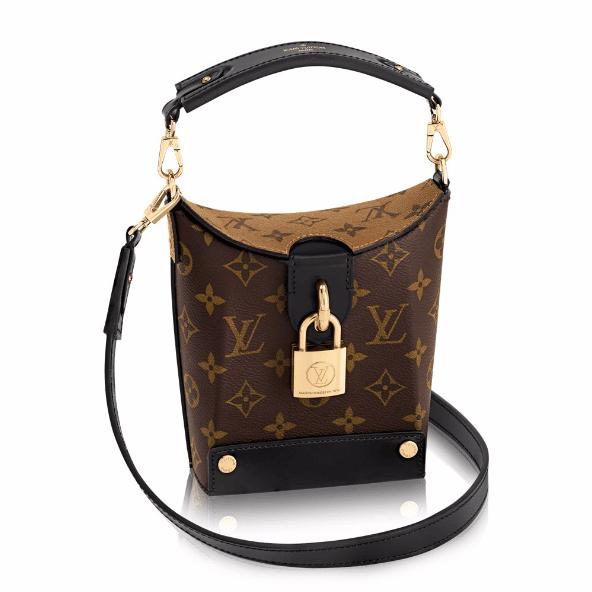 Louis Vuitton Monogram Canvas Reverse Bento Box Bag