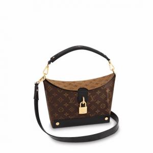 Louis Vuitton Monogram Canvas/Monogram Reverse Bento Box EW Bag