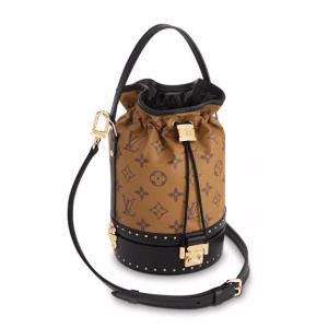 Louis Vuitton Monogram Reverse Petite Noe Trunk Bag