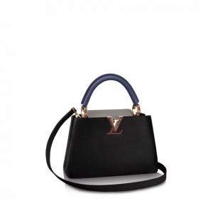 Louis Vuitton Noir Capucines BB Bag