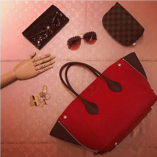 Louis Vuitton Rouge Freedom Bag