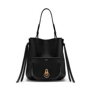 Mulberry Black Amberley Hobo Bag
