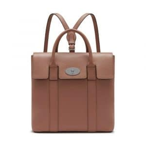 Mulberry Blush Small Classic Grain Bayswater Backpack Bag