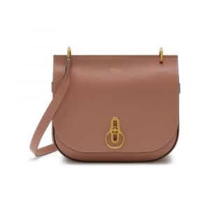 Mulberry Dark Blush Amberley Satchel Bag