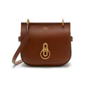 Mulberry Oak Small Amberley Satchel Bag
