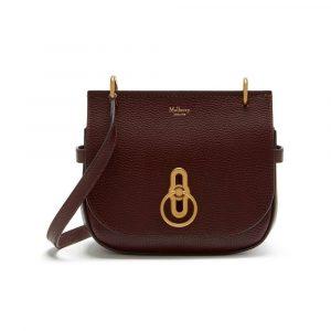 Mulberry Oxblood Small Amberley Satchel Bag