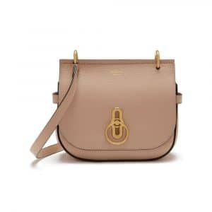 Mulberry Rosewater Small Amberley Satchel Bag