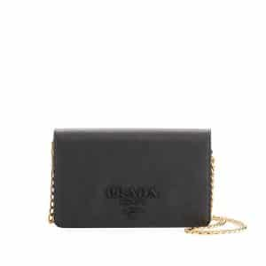 Prada Black Monochrome Small Cross-body Bag